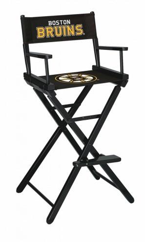 Boston Bruins Bar Height Director's Chair