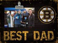 Boston Bruins Best Dad Clip Frame