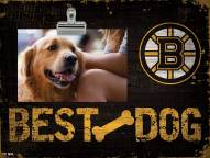 Boston Bruins Best Dog Clip Frame