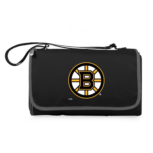 Boston Bruins Black Blanket Tote