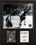 "Boston Bruins Bobby Orr 12"" x 15"" Player Plaque"