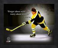 Boston Bruins Bobby Orr Framed Pro Quote