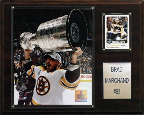 "Boston Bruins Brad Marchand 12"" x 15"" Player Plaque"