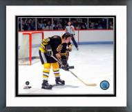 Boston Bruins Brad Park Action Framed Photo