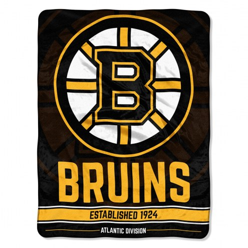 Boston Bruins Break Away Blanket