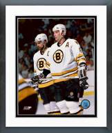 Boston Bruins Cam Neely & Ray Bourque Framed Photo