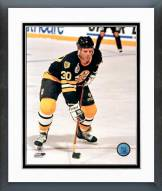 Boston Bruins Chris Nilan Action Framed Photo