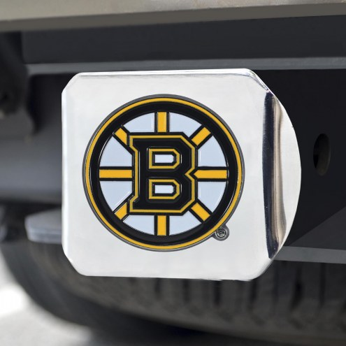 Boston Bruins Chrome Color Hitch Cover