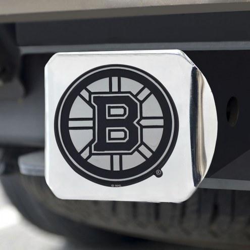 Boston Bruins Chrome Metal Hitch Cover