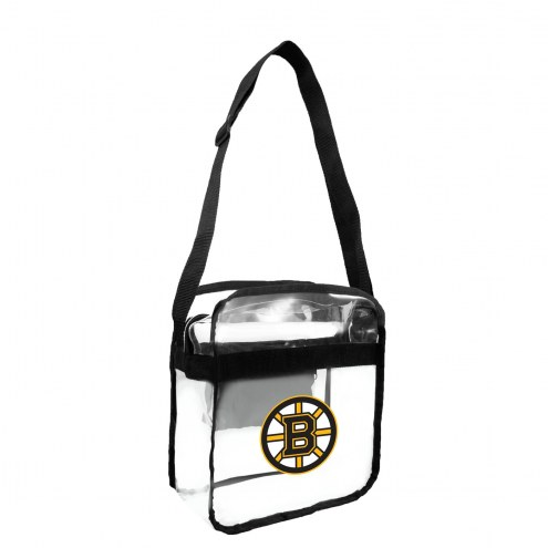 Boston Bruins Clear Crossbody Carry-All Bag