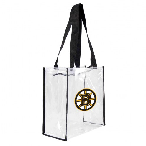 Boston Bruins Clear Square Stadium Tote