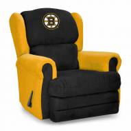 Boston Bruins Coach Recliner