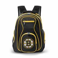 NHL Boston Bruins Colored Trim Premium Laptop Backpack