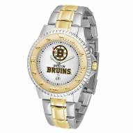 Boston Bruins Competitor Two-Tone Men's Watch