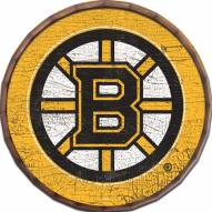 "Boston Bruins Cracked Color 24"" Barrel Top"