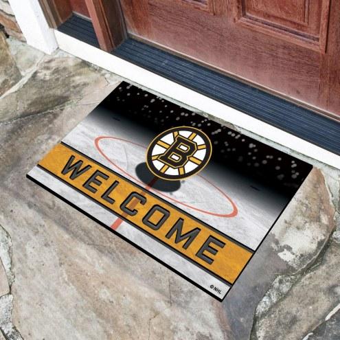 Boston Bruins Crumb Rubber Door Mat