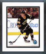 Boston Bruins David Pastrnak Action Framed Photo