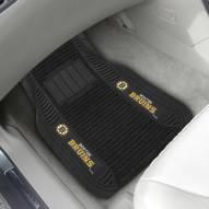 Boston Bruins Deluxe Car Floor Mat Set