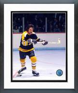 Boston Bruins Derek Sanderson Action Framed Photo