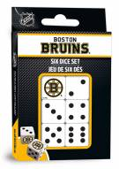 Boston Bruins Dice Set