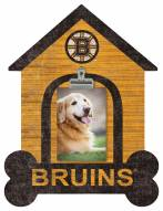 Boston Bruins Dog Bone House Clip Frame