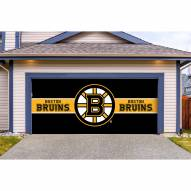 Boston Bruins Double Garage Door Cover