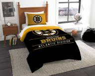 Boston Bruins Draft Twin Comforter Set