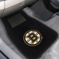 Boston Bruins Embroidered Car Mats