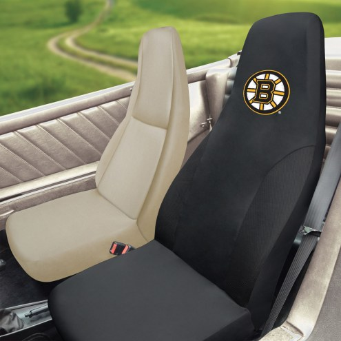 Boston Bruins Embroidered Car Seat Cover