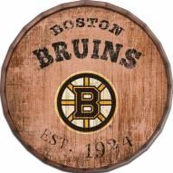 """Boston Bruins Established Date 24"""" Barrel Top"""