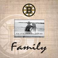 Boston Bruins Family Picture Frame