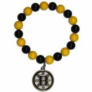 Boston Bruins Fan Bead Bracelet
