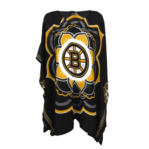 Boston Bruins Flower Caftan