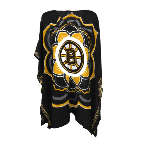 Boston Bruins Flower Caftan