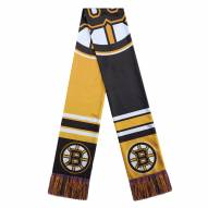 Boston Bruins Colorblock Big Logo Scarf