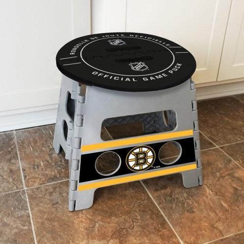 Boston Bruins Folding Step Stool