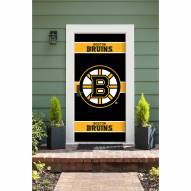 Boston Bruins Front Door Cover