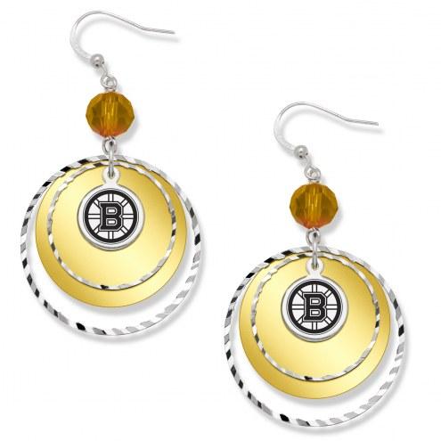 Boston Bruins Game Day Earrings