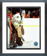 Boston Bruins Gerry Cheevers Action Framed Photo