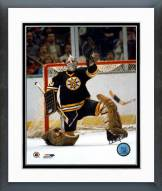 Boston Bruins Gerry Cheevers Save Framed Photo