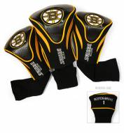 Boston Bruins Golf Headcovers - 3 Pack