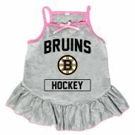 Boston Bruins Gray Dog Dress