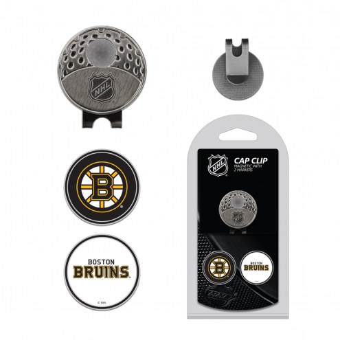 Boston Bruins Hat Clip & Marker Set