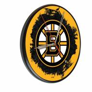 Boston Bruins Digitally Printed Wood Clock