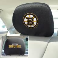 Boston Bruins Headrest Covers