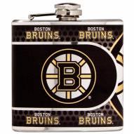 Boston Bruins Hi-Def Stainless Steel Flask
