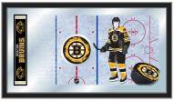 Boston Bruins Hockey Rink Mirror
