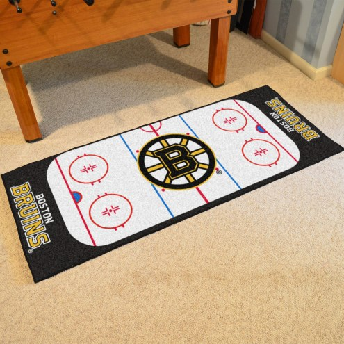 Boston Bruins Hockey Rink Runner Mat