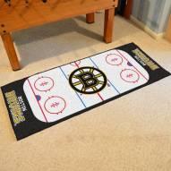 Boston Bruins Hockey Rink Runner Mat
