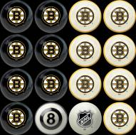 Boston Bruins Home vs. Away Pool Ball Set
